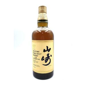 山崎 YAMAZAKI ウイスキー ピュアモルト 12年