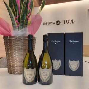 ドンペリニヨン〘DOM PERIGNON〙箱付高価買取致しました🍾