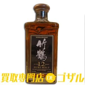 NIKKA WHISKEY (ニッカ ウヰスキー) 竹鶴 12年 ピュアモルト 高価買取致しました!